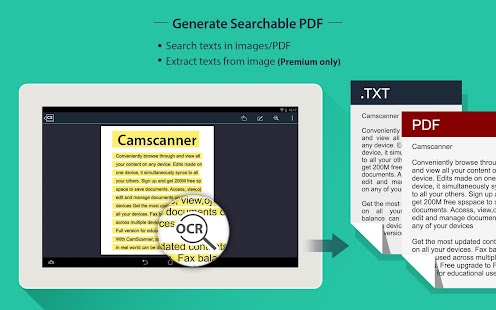 CamScanner HD - Scanner, Fax- screenshot thumbnail