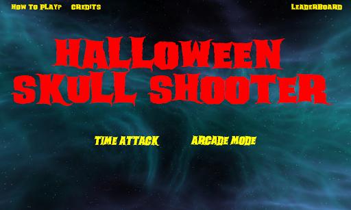 Halloween Skull Shooting