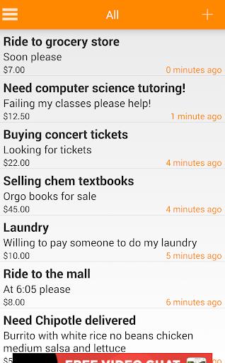 assistU - College Tasks