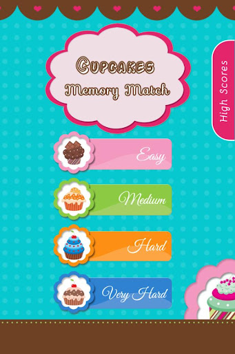 Cupcakes Memory Match