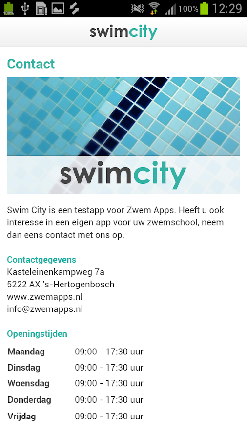 Swim City - screenshot