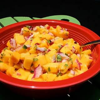 Thai Mango Salsa.
