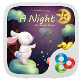 Night GO Launcher Super Theme