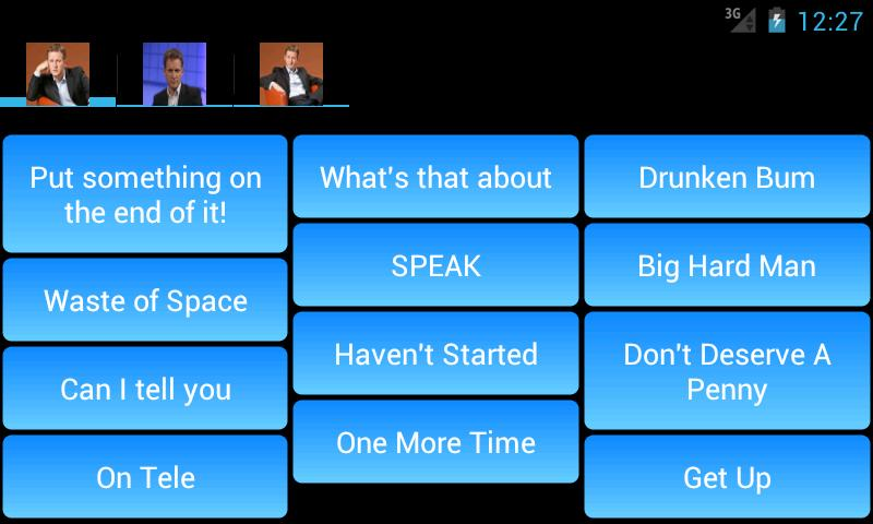 Jeremy Kyle SoundBoard- screenshot