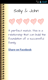 Love Compatibility Horoscope - screenshot thumbnail