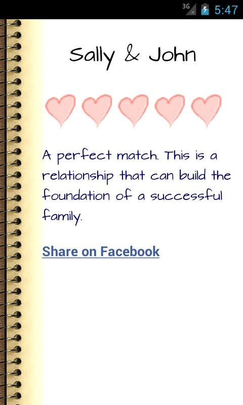 Love Compatibility Horoscope- screenshot