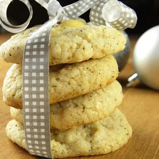 Chai-Almond Cookies.