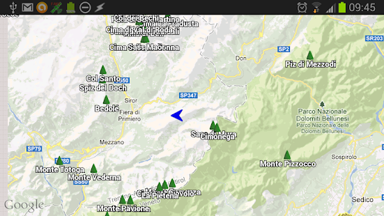 1 ShowMeHills AR mountain peaks App screenshot