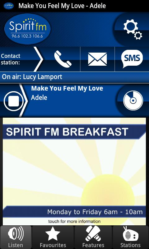 Spirit FM- screenshot