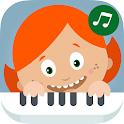 鋼琴的孩子 - 寶寶合成器 icon