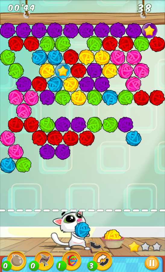 Bubble Shooter Cat- screenshot