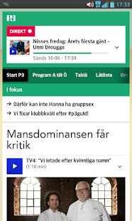 P3 (bokmärkesapp) - screenshot thumbnail