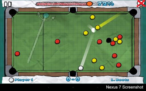 【免費體育競技App】Doodle Pool HD-APP點子