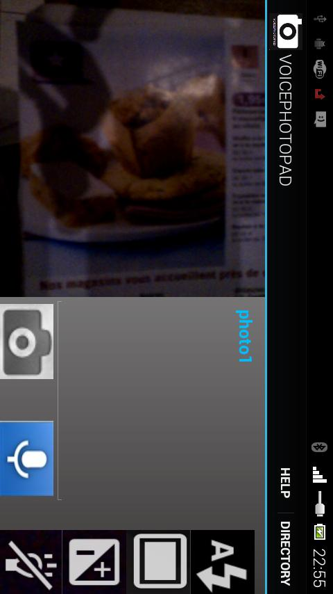 VOICEPHOTOPAD - screenshot