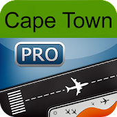 Cape Town Airport+Flight Track