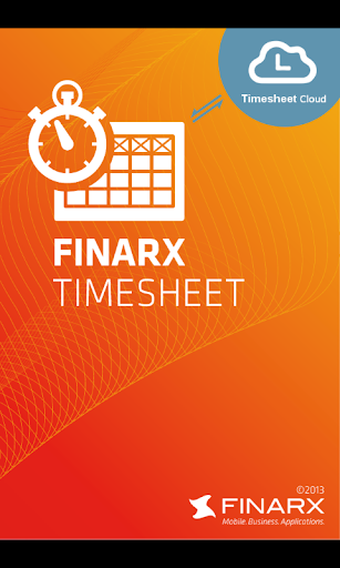 FINARX Timesheet Time tracking
