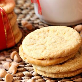 Butterscotch Sandwich Cookies.