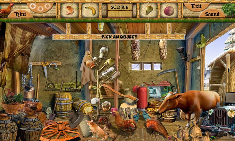 # 70 Hidden Objects Games Free New Fun Barn Yard - Android