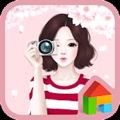 cherry blossom dodol theme