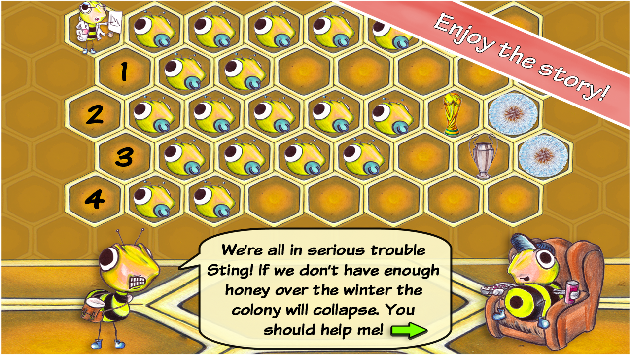 Honey Tribe: Colony Collapse - screenshot
