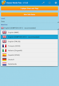 Classic Words Solo v1.6.4