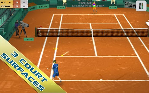 Cross Court Tennis- screenshot thumbnail