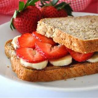 Almond Butter Sandwich Recipes.