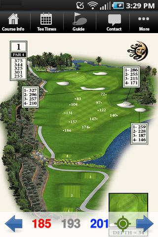 Talis Park Golf Club- screenshot