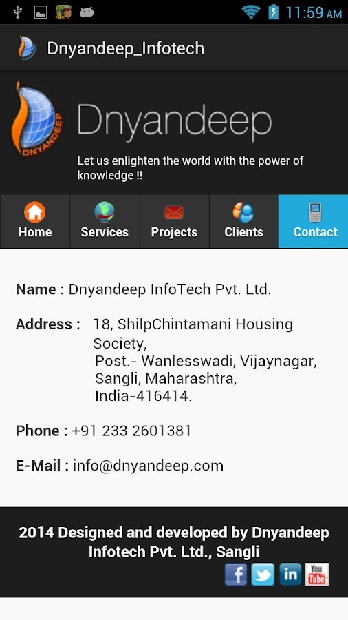 Dnyandeep_Infotech- screenshot