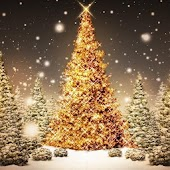 Christmas tree live wall paper