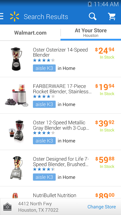 Walmart - screenshot
