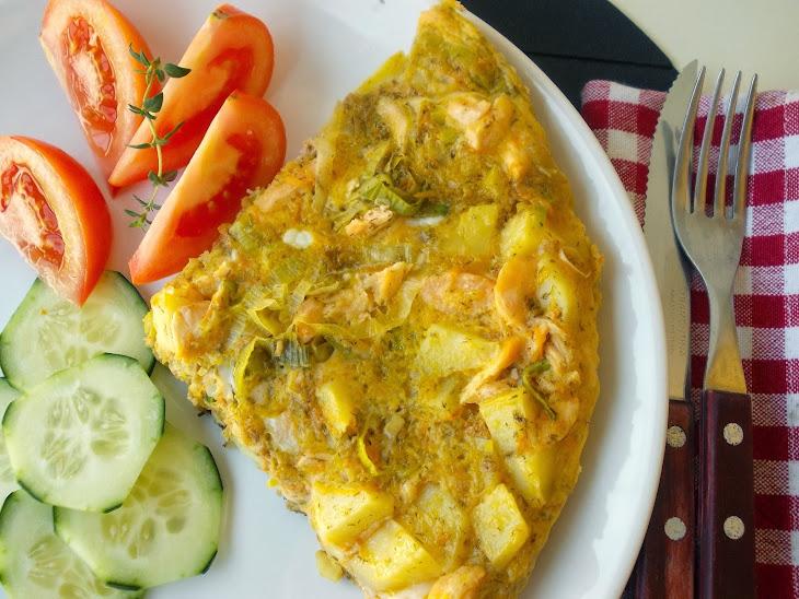 Salmon and Leek Tortilla Recipe