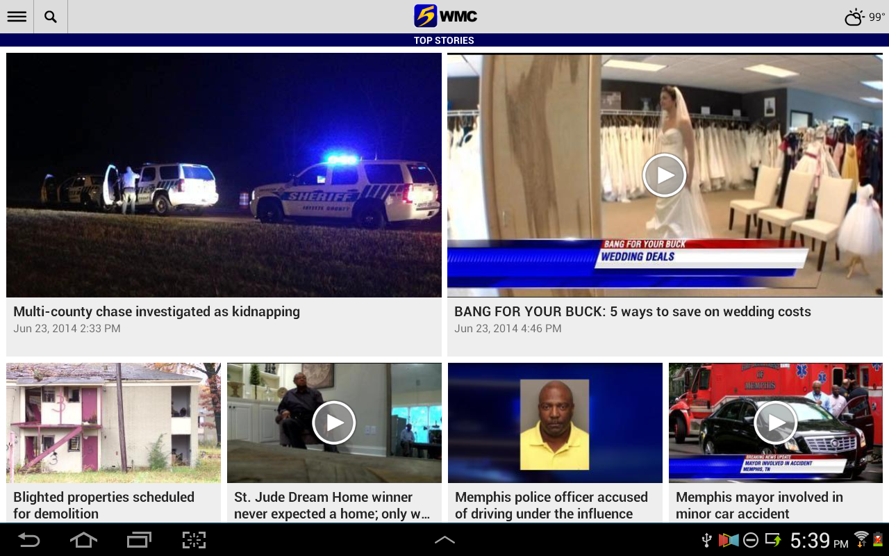 WMC Action News 5 - screenshot