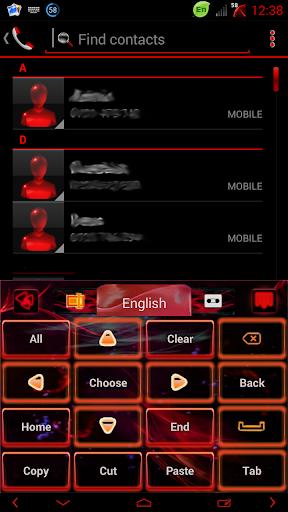 玩免費個人化APP|下載빨간 불꽃 GO 키보드 테마 app不用錢|硬是要APP