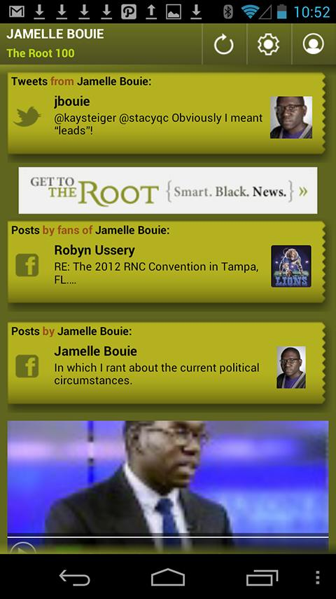 Jamelle Bouie: The Root 100 - screenshot
