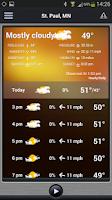 Screenshot of KSTP Weather Mpls-St.Paul