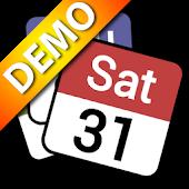 Status bar Calendar Demo