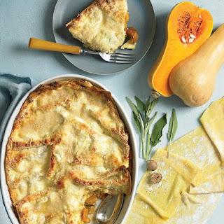 Butternut Squash and Sage Lasagna.