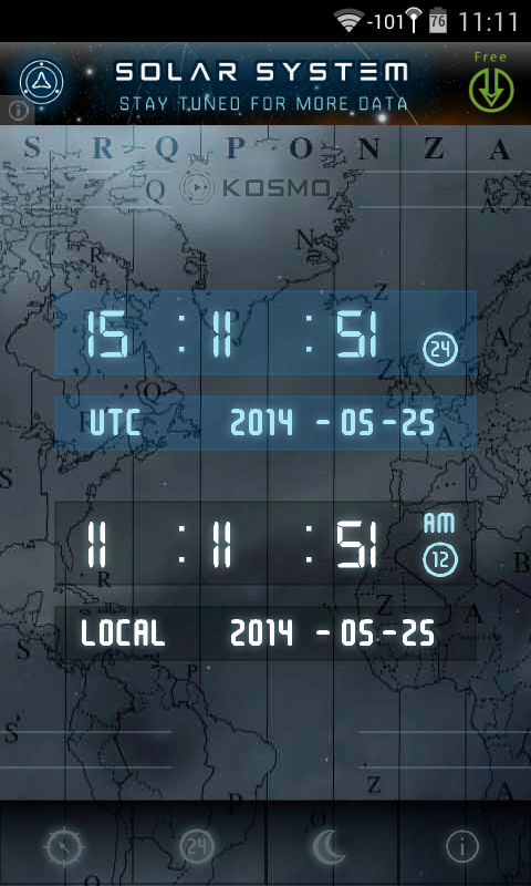 UTC-GMT-ZULU Time - screenshot