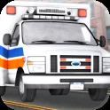 Ambulance Driving 3D icon