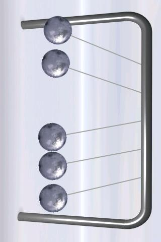 Newton's Cradle screenshot