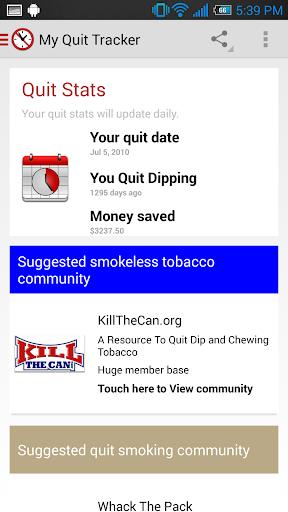 My Quit Tracker