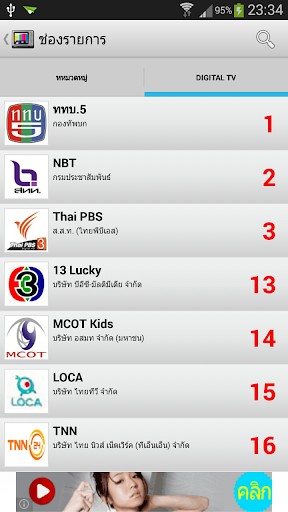 Thai Digital TV