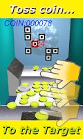 Screenshot of Coin Toss Target