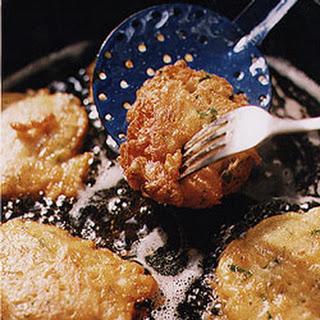 Bonacker-Style Clam Fritters