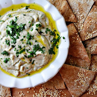 Grilled Baba Ghanoush.