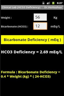 Clinical Lab (HCO3 Deficiency) - screenshot thumbnail