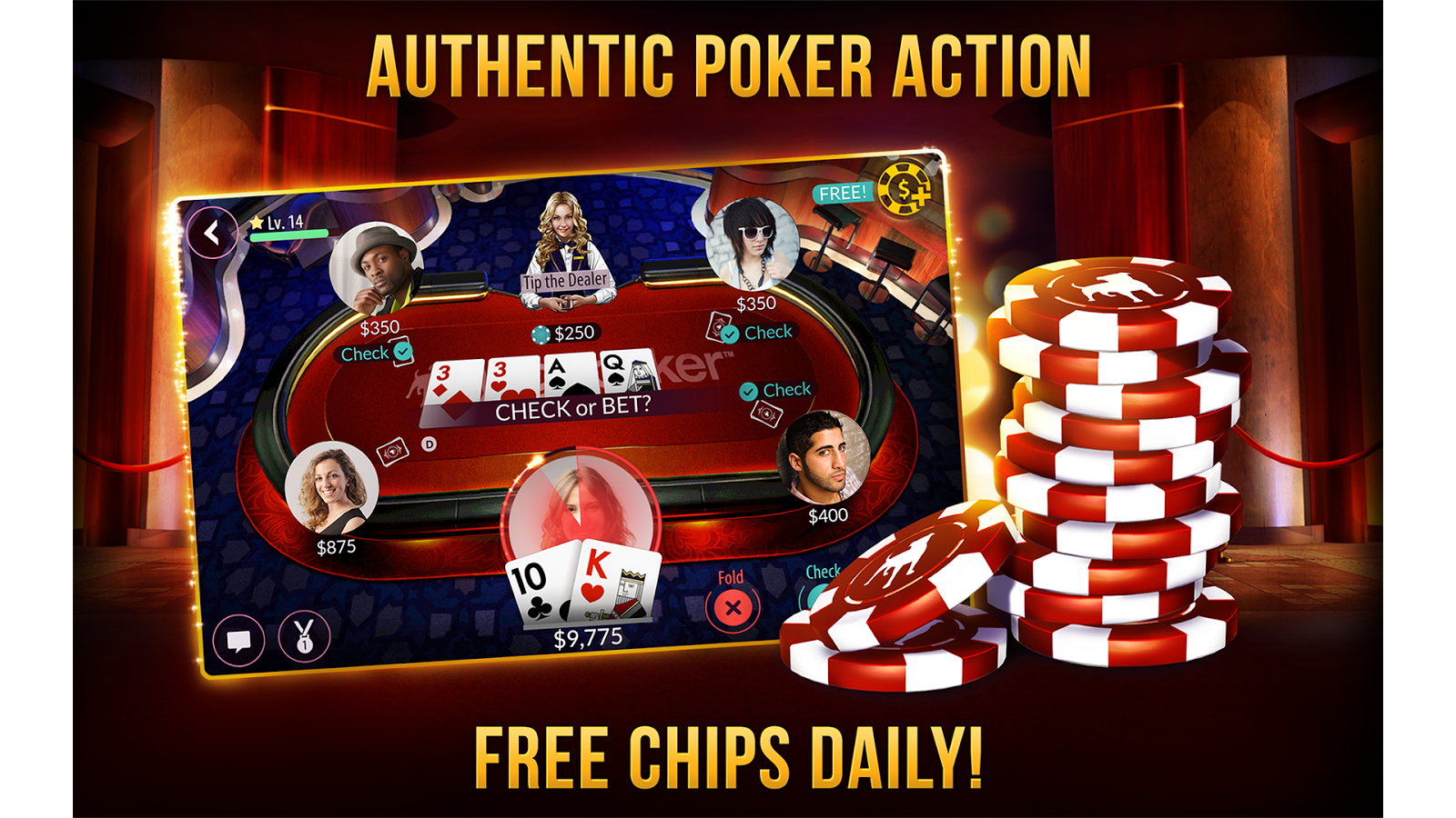 Zynga Poker - Texas Holdem - Android Apps on Google Play