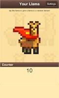 Screenshot of Llama Giving Game