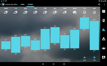 1Weather:Widget Forecast Radar Screenshot 4